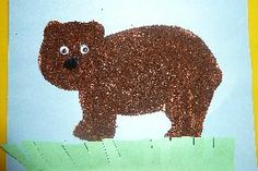 story-Brown Bear Brown Bear by Eric Carle  *fun activities