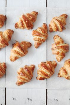 Croissant Variation 1: Instant Yeast | natalie eng | patisserie • food photography