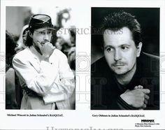 "1996 Press Photo Michael Wincott and Gary Oldman in ""Basquiat"""