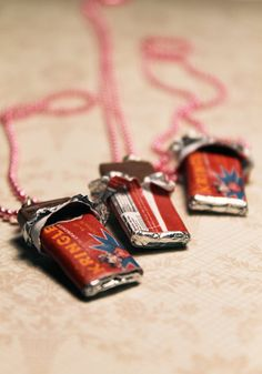 Oh my! Koko Kringle Bar necklaces! lol!   You will know If you have EVER been obsessed with Nancy Drew computer games! <3