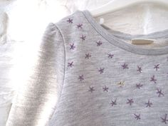 Republique du Chiffon embroidery stars