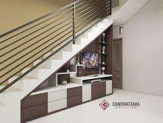 Interior Design Under Stairs, Tv Unit Interior Design, Home Stairs Design, Room Door Design, Wooden Door Design, House Design, Living Room Under Stairs, Storage Under Staircase, Tv Unit Decor
