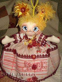 Кукла-грелка на чайник Милёна. - кукла грелка на чайник,кукла грелка,грелка на чайник