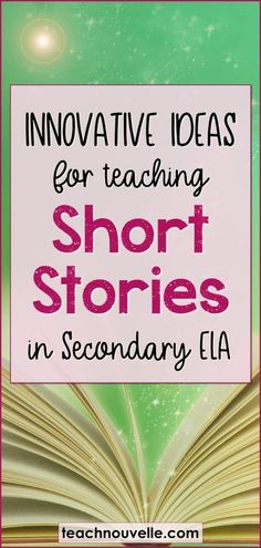Here are some of my favorite resources and ideas for teaching short stories in middle school and high school. Teaching short stories can be a great way to build student confidence and endurance with a number of skills. These texts span all genres and are Teaching Strategies, Teaching Tips, Teaching Reading, Instructional Strategies, Learning, Middle School Reading, Middle School English, Teaching Short Stories, Short Stories For Students