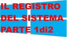 Windows 8.1 - Il Registro Del Sistema - Parte 1 di 2