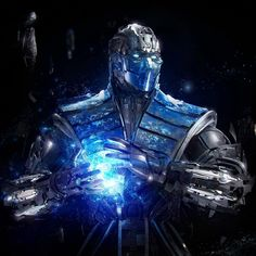 Cool ;-) Sub-Zero and other Mortal Kombat art and wallpaper at spizak.com and get.spizak.com