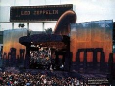 On this day July 25, 1977 : The original Led Zeppelin Official plays their last ever show in the United States.