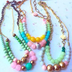 Retro delicate necklaces  KerenFleaStyle.etsy.com