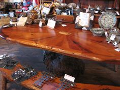 Handmade Rustics Mesquite Table From Texas Hill Country Furniture