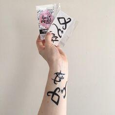 Shadowhunter Runes Temporary Tattoos - Set of 3