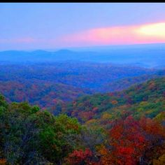 The view from my road. Branson, Missouri.