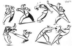 Here are a couple of exercises from Gesture Class that Alex throws in from time to time to keep us on our toes.   1. Silhouette   2. Extrap...