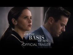 The Ruth Bader Ginsburg biopic 'On the Basis of Sex' gets a new trailer starring Felicity Jones and Armie Hammer. New Trailers, Movie Trailers, Hidden Figures, Wtf Moments, Felicity Jones, Original Song, Upcoming Movies, Official Trailer, Streaming Movies