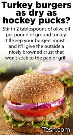 #turkeyburger #quicktip #cookingtips #oliveoil #healthy #food