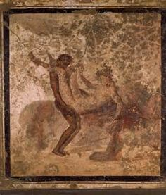 Erotic artworks from ancient Rome – Inter-racial sex from classical times: presented by Oguejiofo Annu Fresco, Early Humans, Ancient Rome, Hercules, Trees To Plant, Egyptian, Moose Art, Inter Racial, Painting