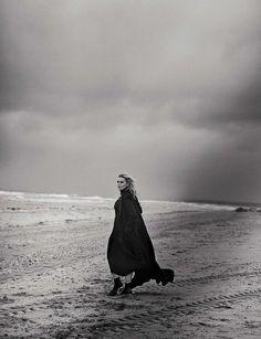 Kate Winslet photographed by Peter Lindbergh for Vogue, November 2015.