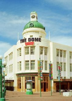 art deco building, Napier (New Zealand)
