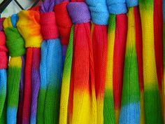 Tie-dye rainbows