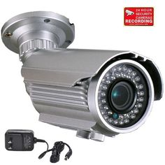 """VideoSecu 700TVL Day Night Outdoor Bullet Security Camera Built-in 1/3"""" Sony Effio CCD DSP 4-9mm Varifocal Lens OSD Menu IR Infrared Illumination LEDs for CCTV DVR Home Surveillance with Power Supply and Security Warning Decal A78 by VideoSecu. $112.99. VideoSecu supplies a broad variety of high-quality, well-designed and easy-installed security cameras at affordable prices. The professional security camera is one of the most advanced and feature-rich camera on the ma..."""