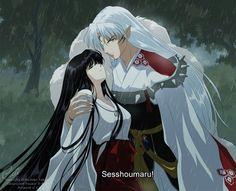 Tags: Anime, Fanart, InuYasha, Sesshoumaru, deviantART