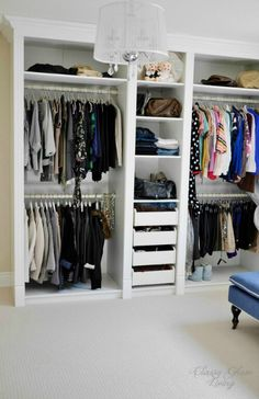 - Magnificent Ikea Hacks trend Toronto Transitional Closet Decorators with Built in walk in closet custom-made DIY dressing room ikea hack Ikea Pax mouldings Thank to Classy Glam Living Master Closet, Closet Bedroom, Closet Space, Walk In Closet, Loft Bedrooms, Diy Bedroom, Master Bedrooms, Master Suite, Diy Dressing