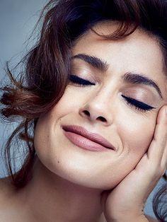 Salma Hayek Allure August 2015 photo shoot