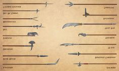 Weapons (5): polearms (Egil Thompson)