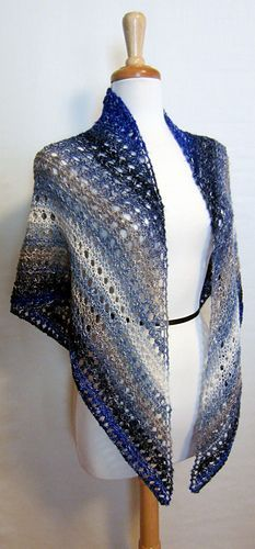 Easy Lace Shawl free pattern