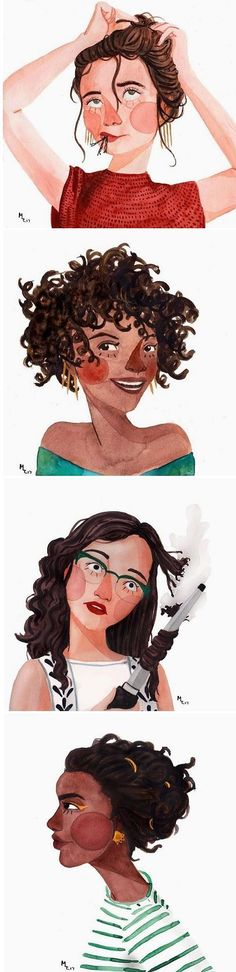 Illustrations by Maggie Cole / on the Blog!