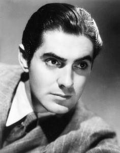 Tyrone Power, so handsome!.
