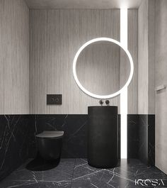 New luxury is a modern individuality, progressive design and functionality. Washroom Design, Bathroom Design Luxury, Toilet Design, Bathroom Spa, Bathroom Toilets, Small Bathroom, Interior Design Studio, Home Interior, Contemporary Toilets