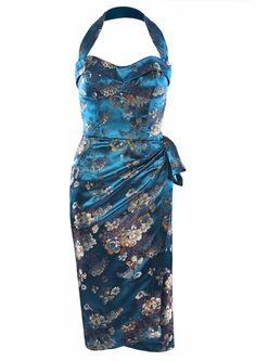Oriental Fever Sarong Dress - Fashion 1930s, 1940s & 1950s style - vintage reproduction