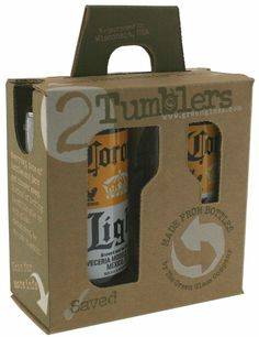Recycled Bottle Tumblers