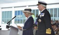Duchess of Cornwall christens HMS Prince of Wales