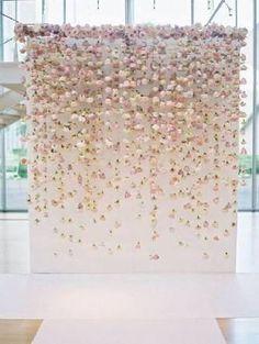 cortina de flores - Pesquisa Google