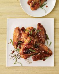East-Meets-West Wings // More Amazing Chicken Wings: http://www.foodandwine.com/slideshows/chicken-wings #foodandwine