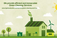 Why choose us? We provide efficient and immaculate green cleaning services: http://www.2girlsnabucket.com/service/green-cleaning-services #‎GreenCleaningServices‬