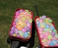 Outdoor Water Birthday party idea