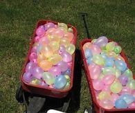 Outdoor Water Birthday party idea