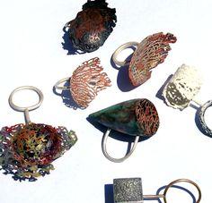 Nikki Stott, jewelry artist, scientist.