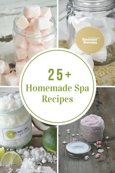 Treat and pamper yourself with some of these amazing Homemade Spa Recipes. Perfect for some me time or a night in with the girlfriends.