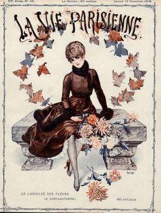 Chéri Hérouard (1881 – 1961). La Vie Parisienne, 13 Novembre 1915. [Pinned 6-vi-2015]