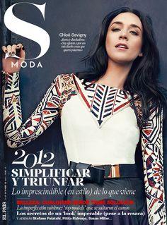Chloe Sevigny by Gonsalo Machado for S Moda  [LOVE THE DARK HAIR]