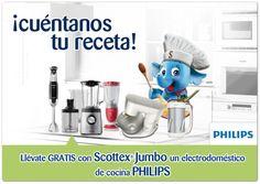 Gana con Scottex® un fantástico electrodoméstico Philips