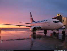 Wonderful sunrise in Winnipeg, Canada