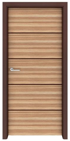 Zebrawood Spindrift Interior Door