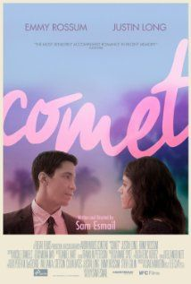 Comet (2014) - Comet manages to hold to the indie film spirit. Which makes it, perhaps impractically, immensely easy to enjoy.Perhaps love doesn't follow rules, so if Sam Esmail wants to dream up new ones in a world of his imagination, he's just clever enough to make it interesting, if not remarkable.