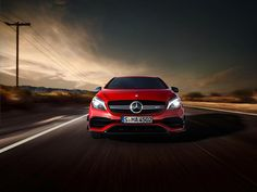 The Mercedes-AMG A 45 is world's most powerful compact car, wielding more than 381 hp at the drop of the throttle. Slide in and prepare your wildest expectations to be blown away. [Fuel consumption combined: 7.3-6.9 l/100km | CO2 emission combined: 171-162 g/km | http://amg4.me/Efficiency-Statement]