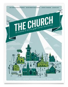 The Church poster by  Shed Labs
