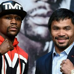 Who rocks the best footwear inside the ring, Manny Pacquiao or Floyd Mayweather Jr.?